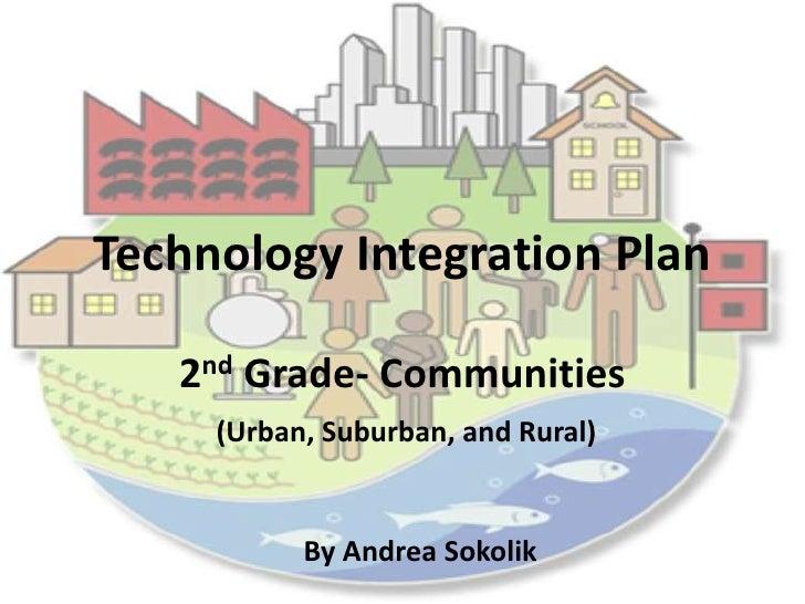 Technology Integration Plan<br />2nd Grade- Communities<br />(Urban, Suburban, and Rural)<br />By Andrea Sokolik<br />