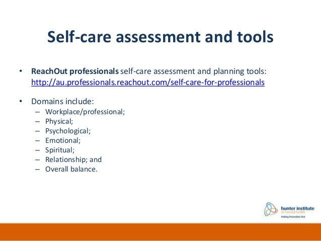 Elegant Self Care Assessment ... Amazing Ideas