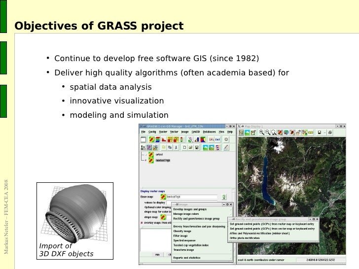 Community based software development: The GRASS GIS project
