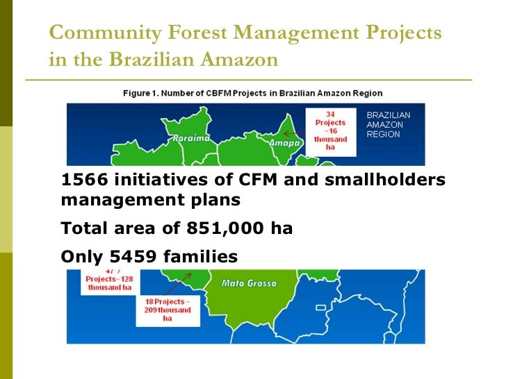 failure of community forest based management The limits and failures of forest governance standards in semi–arid contexts 115   community based forest management have been conducted, with the.