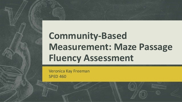 Community Based Measurement Kay Freeman