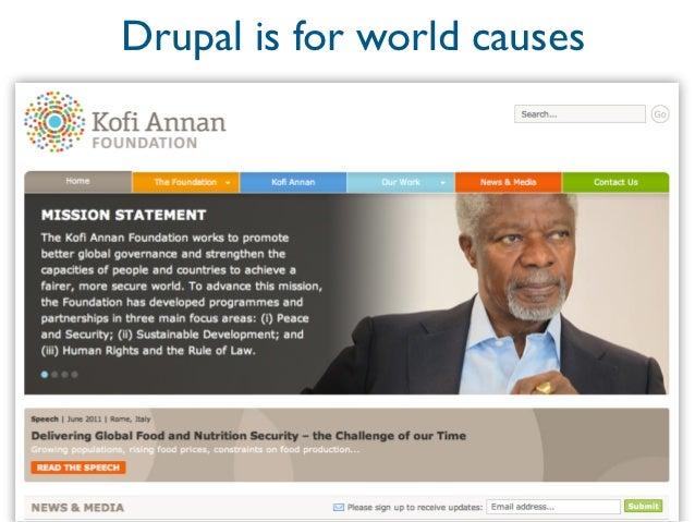 Drupal is for finance