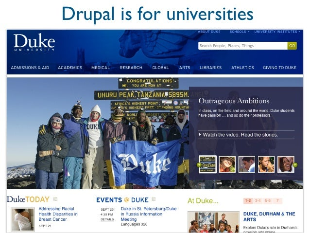 Drupal is for governments