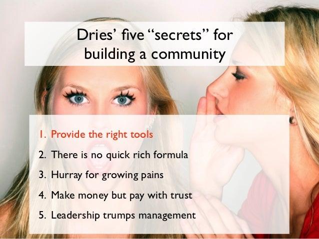 Secret #5:Leadership trumps management