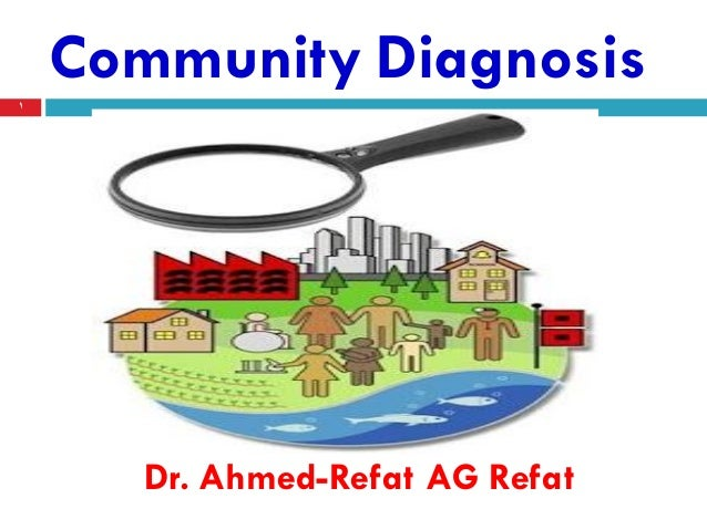 what is community diagnosis and four health indicators