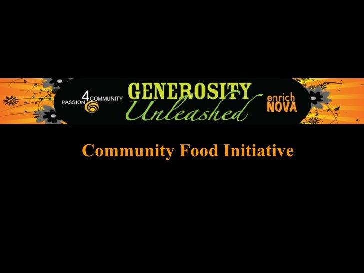 Community Food Initiative