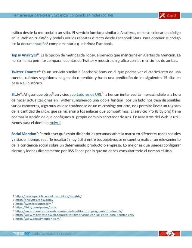 Herramientas para crear y organizar contenido en redes sociales                                   Cap. 3TRABAJO EN EQUIPOE...