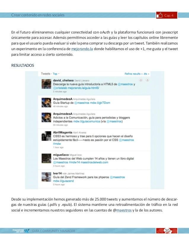 Crear contenido en redes sociales                                                               Cap. 4THE CREME BRULEE CAR...