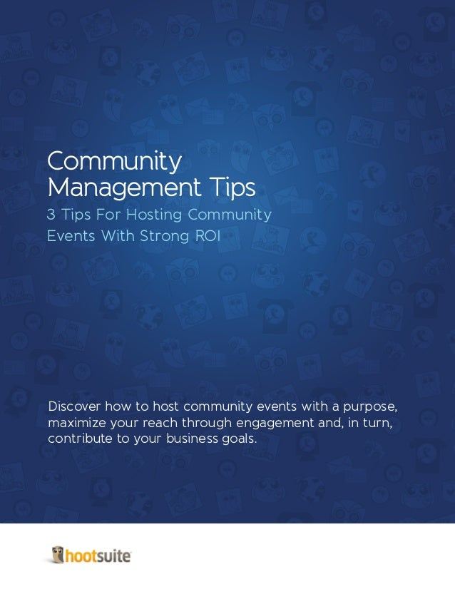 3 Tips For Hosting Community Events With Strong ROI