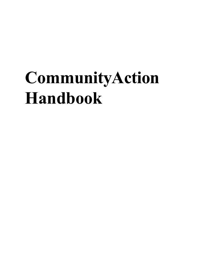 CommunityAction Handbook