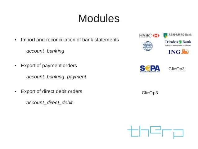 Community banking modules in OpenERP. Stefan Rijnhart, Therp  Slide 3