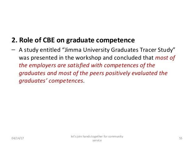 Community Based Education Experience of Jimma University