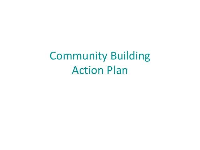 Community Building Action Plan