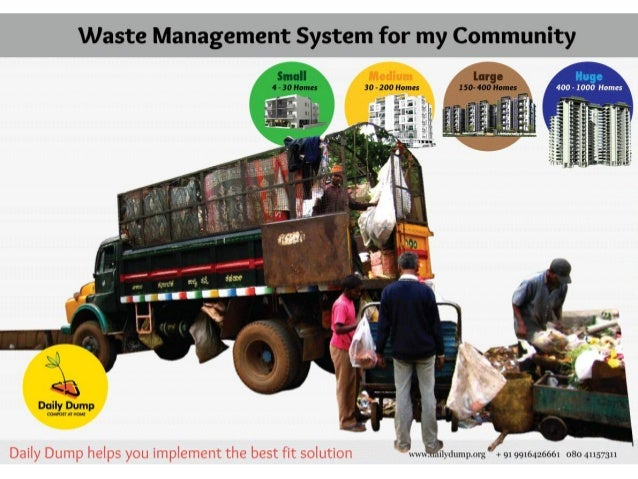 Waste Management System for my Community                          Small large p:  I I Lcl 4-30Homes 30-200!-Ionics I50-400...