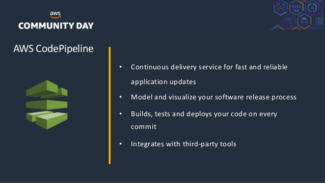 ©2018, AmazonWebServices, Inc. or its Affiliates. All rights reserved. AWS CodePipeline • Continuous delivery service for ...