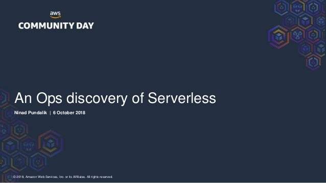 An ops discovery of serverless Slide 2