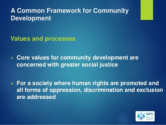 Community development & its impact on life