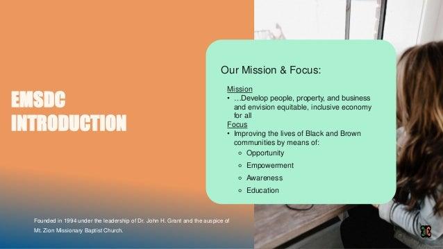 Community equity fund3.1 Slide 2