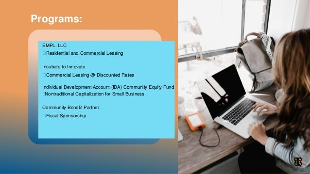 Community equity fund3.1 Slide 3