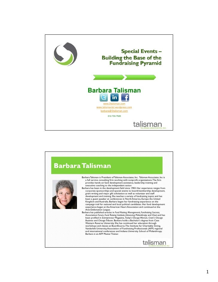 Barbara Talisman                            www.3talisman.com                       www.talismantol.wordpress.com         ...
