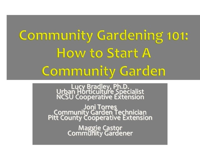 Lucy Bradley, Ph.D.    Urban Horticulture Specialist    NCSU Cooperative Extension                      ...