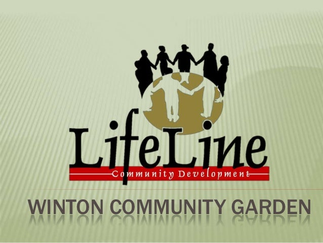WINTON COMMUNITY GARDEN