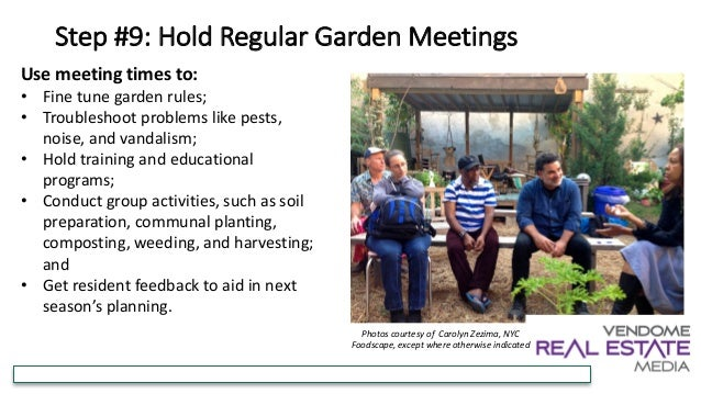 How to Create a Successful Community Garden for Residents