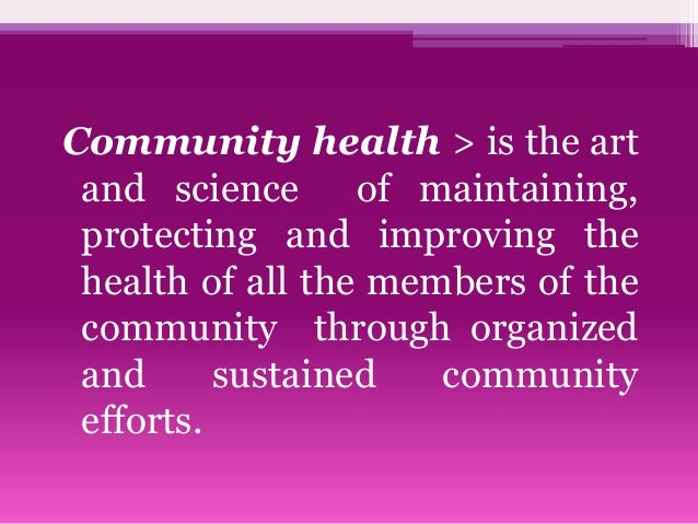 community health problems We offer many wellness, testing, and education programs to improve your health and that of our community.
