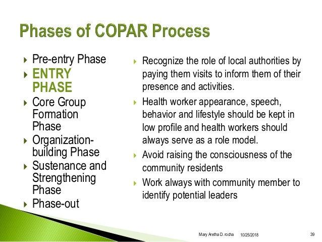 Community Health Care Development Process