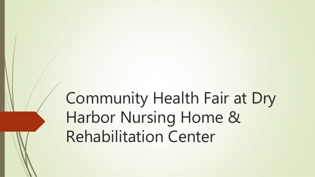Community Health Fair at Dry Harbor Nursing Home & Rehabilitation Center