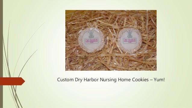 Custom Dry Harbor Nursing Home Cookies – Yum!