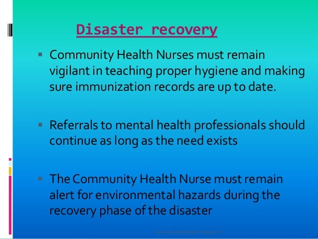 types of disaster management pdf
