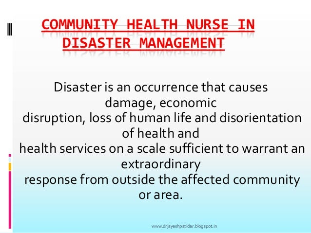 primary secondary tertiary natural disaster nursing prevention Success of primary prevention strategies instituted since 1900 has resulted in a  shift in the top causes of death from infectious diseases to chronic diseases.
