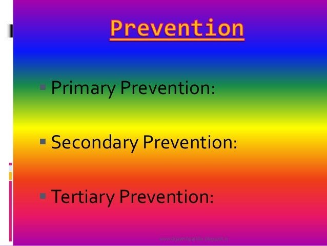 primary secondary tertiary natural disaster nursing prevention Who strategy for prevention and control of chronic respiratory diseases 6 primary prevention secondary and tertiary prevention.