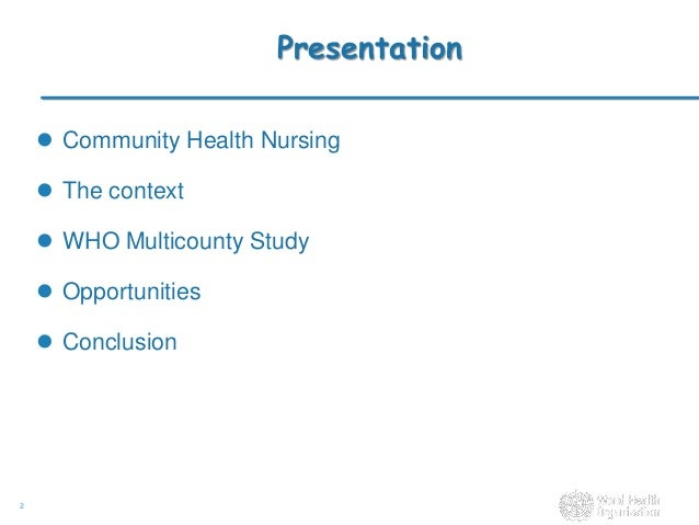 conclusion of community health nursing Utmb school of nursing phd community health nursing essay conclusion career goals in nursing examples an essay why become a nurse.