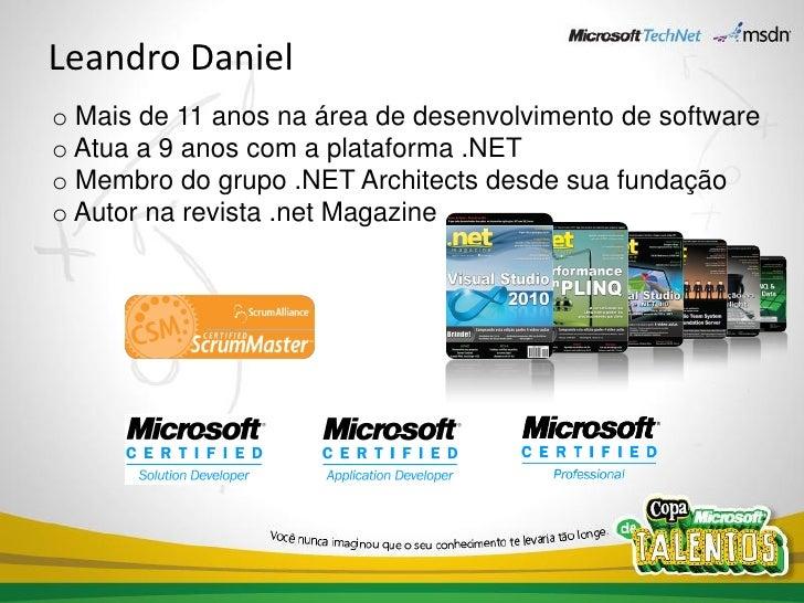 Community Launch 2010 - Visual Studio 2010 (por Leandro Daniel) Slide 2