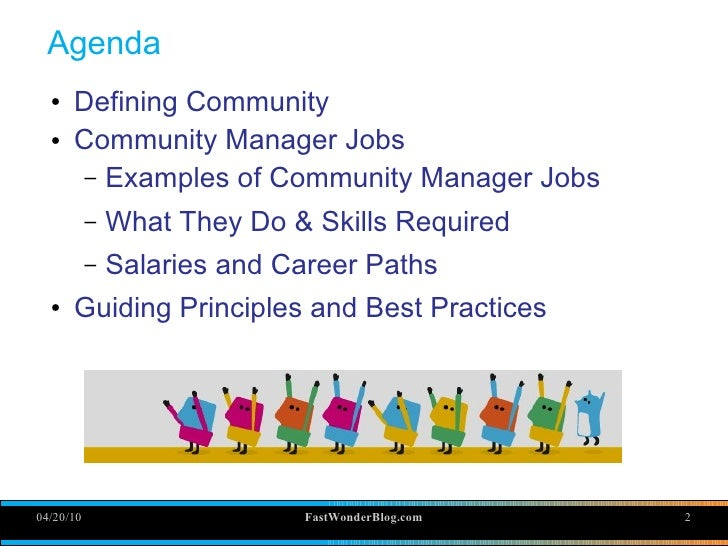 Online Community Manager, Yes it's really a job 2010 Slide 2