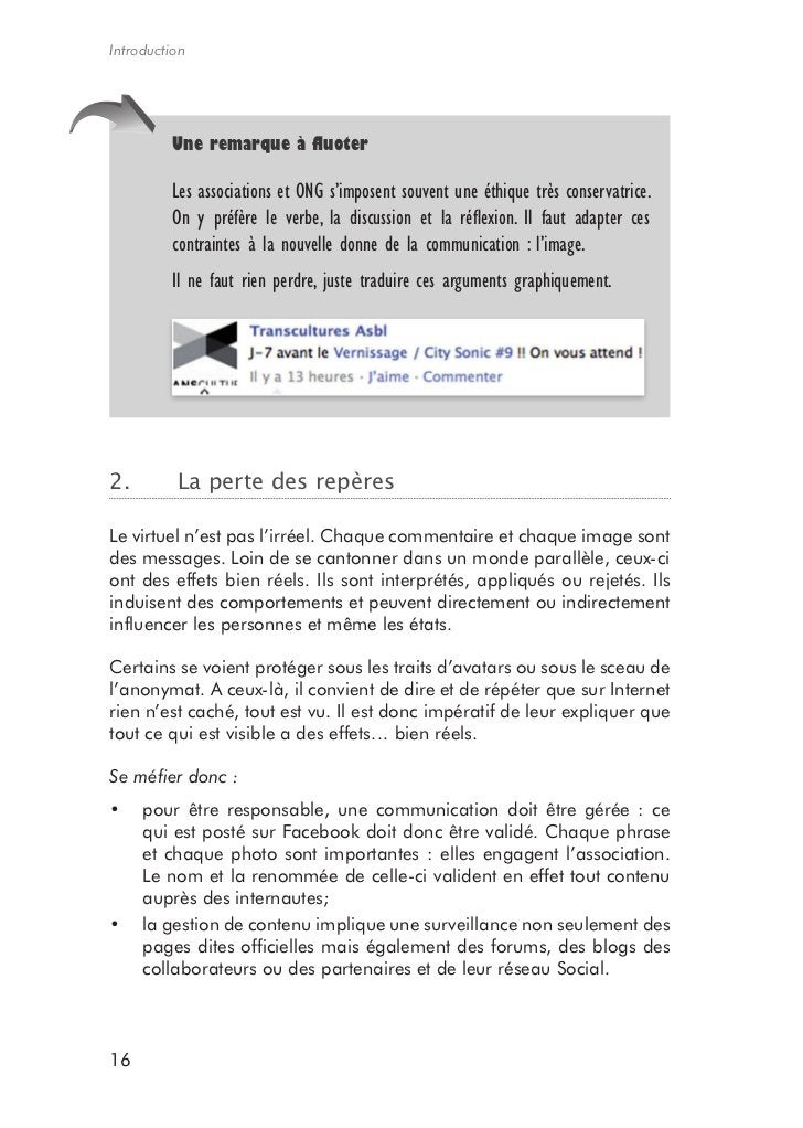 Edi.pro         Synthèse         Comme tout progrès, le Web Social draine ses avatars. Il faut donc le         considérer ...