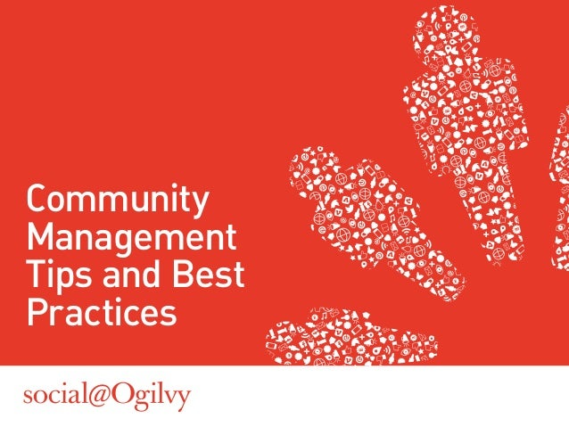 CommunityManagementTips and BestPractices