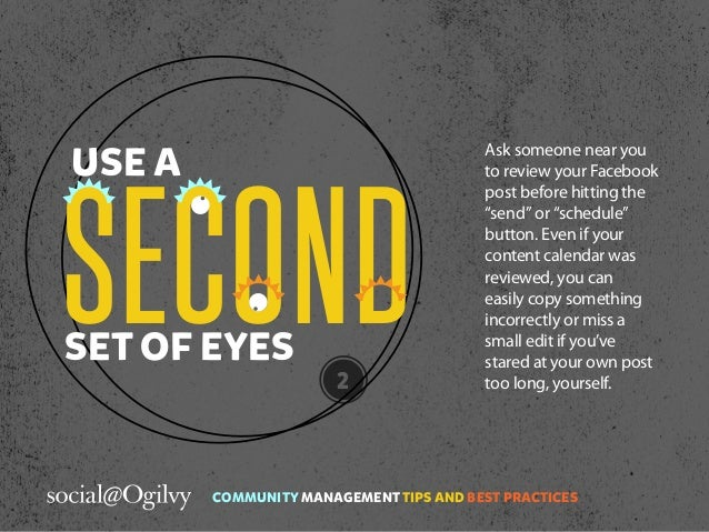 Community Management Tips and Best Practices  Slide 3