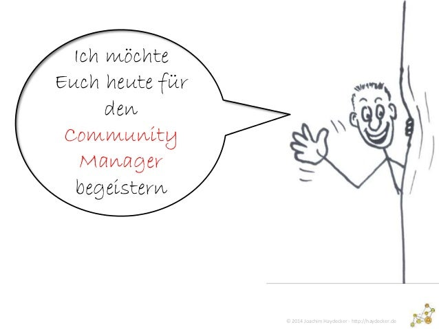 Werbung für den Community Manager Slide 2