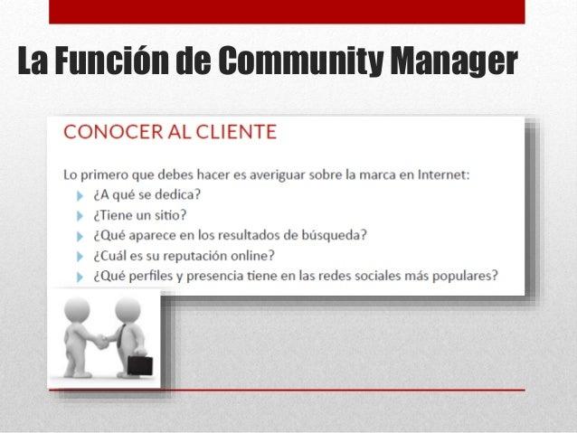 La Función de Community Manager