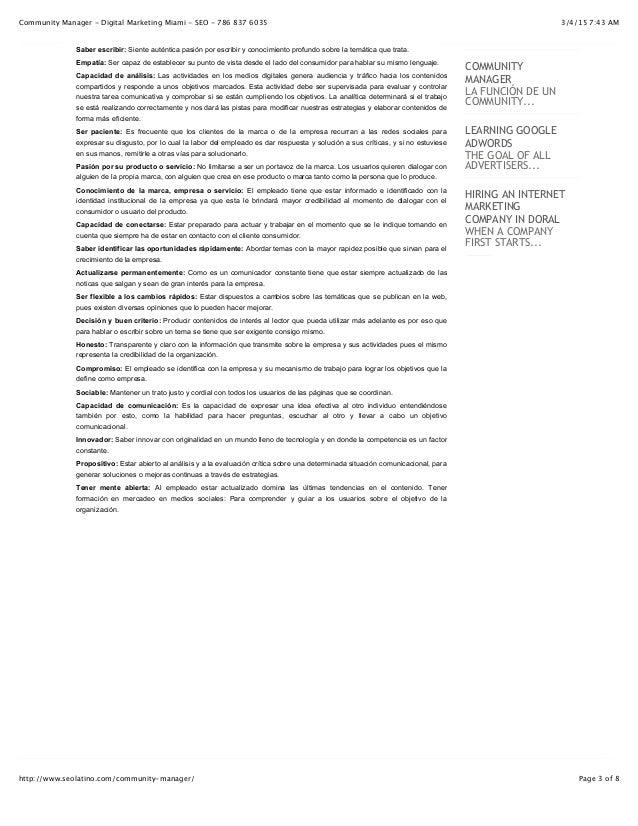 3/4/15 7:43 AMCommunity Manager - Digital Marketing Miami - SEO - 786 837 6035 Page 3 of 8http://www.seolatino.com/communi...