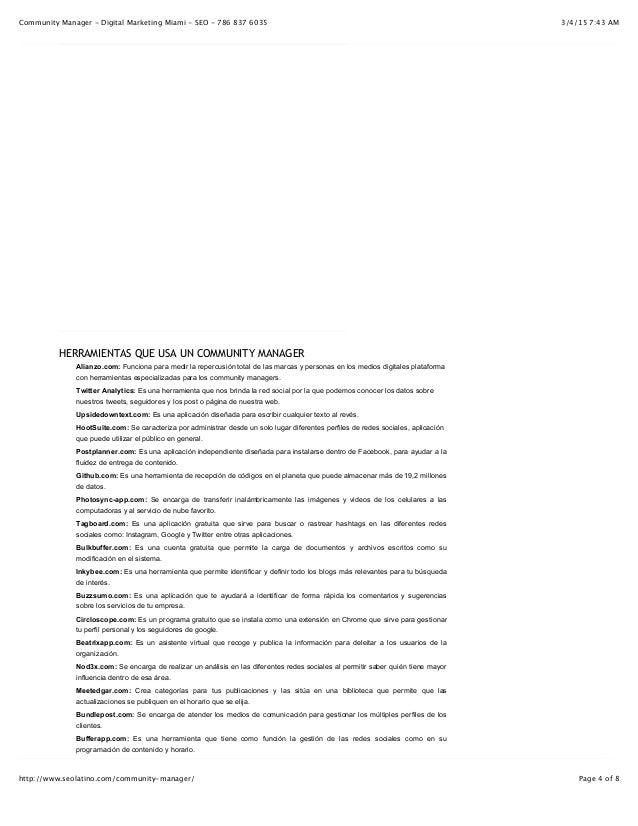 3/4/15 7:43 AMCommunity Manager - Digital Marketing Miami - SEO - 786 837 6035 Page 4 of 8http://www.seolatino.com/communi...
