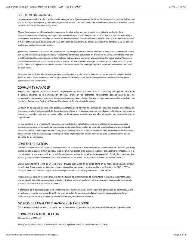 3/4/15 7:43 AMCommunity Manager - Digital Marketing Miami - SEO - 786 837 6035 Page 5 of 8http://www.seolatino.com/communi...