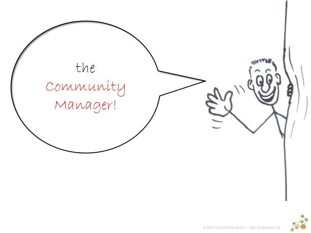 Community Manager (almost in english)   Slide 2