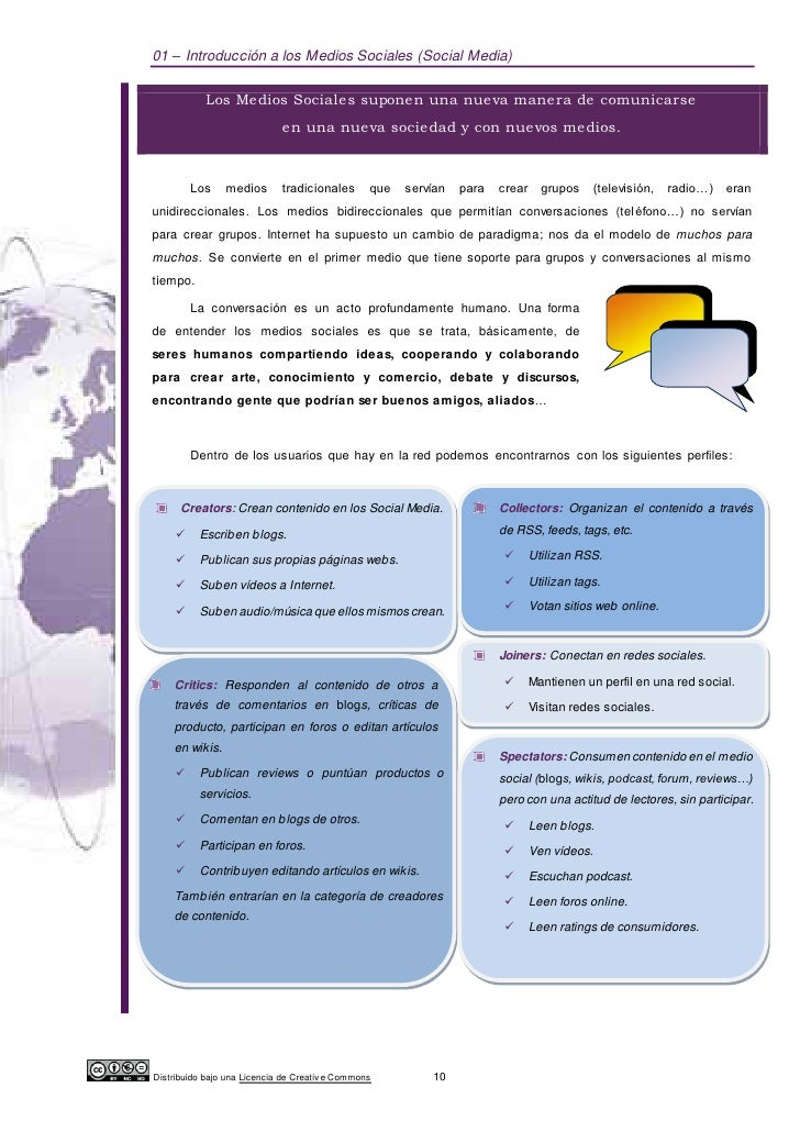 01 – Introducción a los Medios Sociales (Social Media)            Los Medios Sociales suponen una nueva manera de comunica...