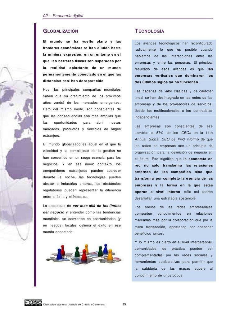 02 – Economía digitalGLOBALIZACIÓN                                                      T ECNOLOGÍAEl    mundo       se   ...
