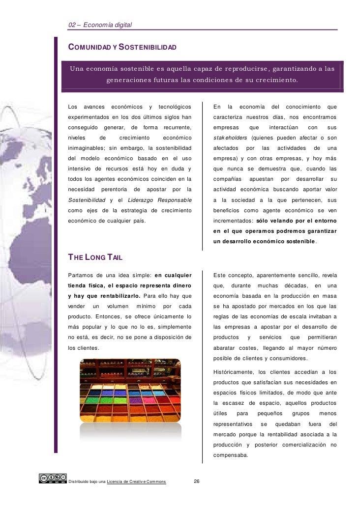 02 – Economía digitalCOMUNIDAD Y SOSTENIBILIDADUna economía sostenible es aquella capaz de reproducirse , garantizando a l...