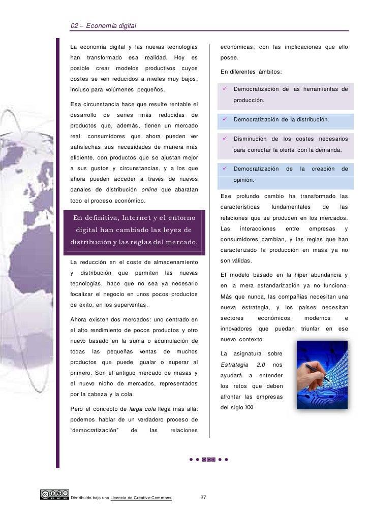 02 – Economía digitalLa economía digital y las nuevas tecnologías                         económicas, con las implicacione...